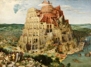 Tower of Babel by Pieter Bruegel the Elder (1563). Image courtesy of wikipedia.org