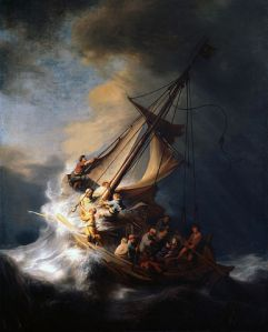 The storm on the sea of Galilee by Rembrandt - 1632