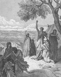 Noah curses Ham By Gustave Dore