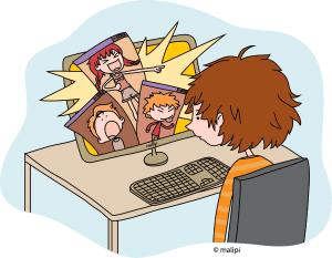 Cyber bulling by Malipi