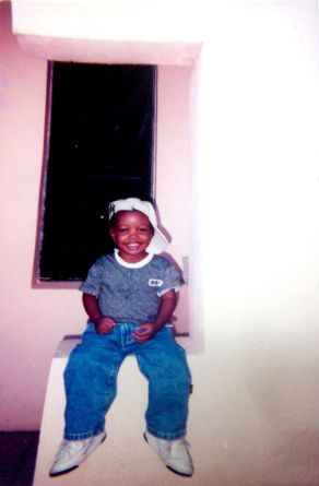 My son when he was two years old