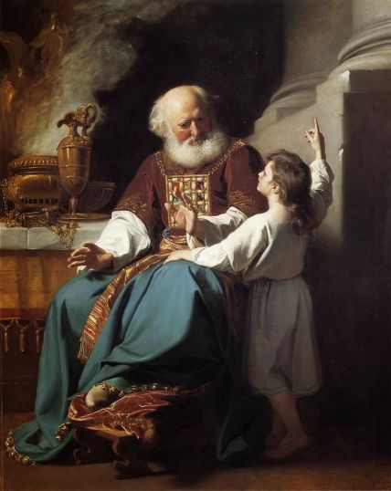 Depiction of Eli and Samuel by John Singleton Copley/Wikipedia.org
