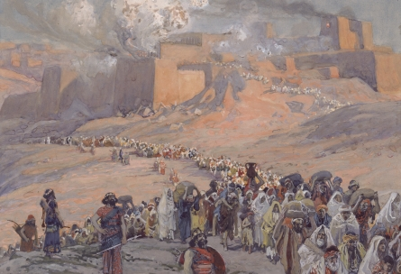 The Babylonian invasion of Judah by James Tissot/wikipedia.org