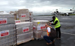 AmeriCares sending well needed supplies to Ebola victims in West Africa.