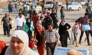 Iraqi refugees image by: nbcnews.com