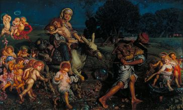 The Triumph of the innocents by William Holman Hunt/wikipedia.org