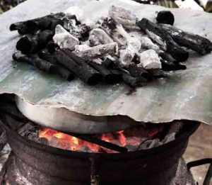 Coal Stove Oven
