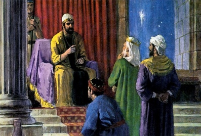 King Herod and the wise men/flickr.com