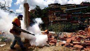 Mosquito fogging in Nicaragua. Image courtesy of telesurtv.