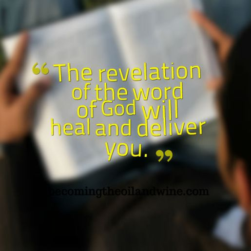 revelation of the word