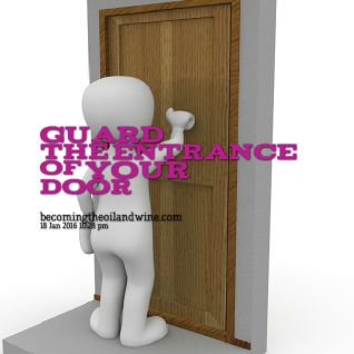 Guard The Entrance Of Your Door!