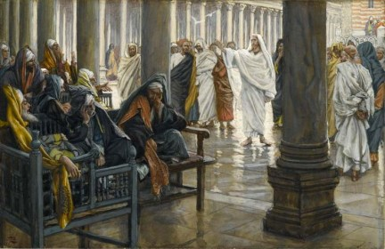 James Tissot, Woe unto You, Scribes and Pharisees, Brooklyn Museum. Image courtesy of Wikipedia.org