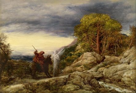 Balaam and the Angel by John Linnell. Image courtesy of wikipedia.org