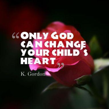 God can change