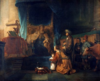 Hannah presenting her son Samuel to the priest Eli, ca. 1665 -Gerbrand van den Eeckhout Image courtesy of wikipedia.org