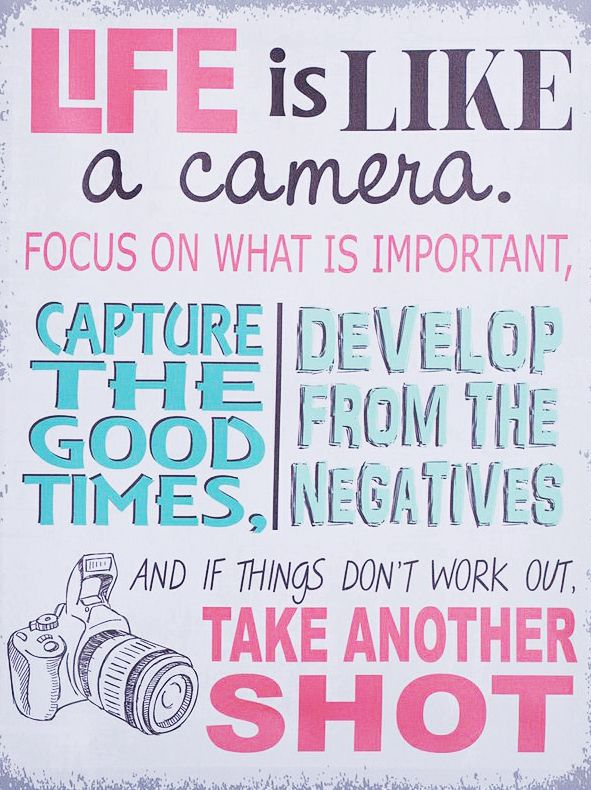camera quotes about life
