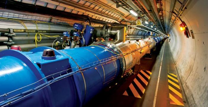 The Large Hadron Collider is the world's largest and most powerful particle accelerator (Image: CERN)