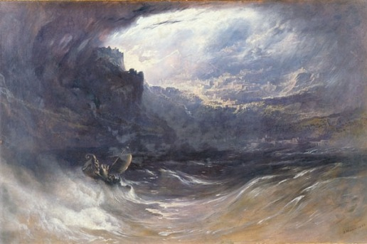 The Deluge, by John Martin, 1834. Oil on canvas. Yale University. Image courtesy of wikipedia.org