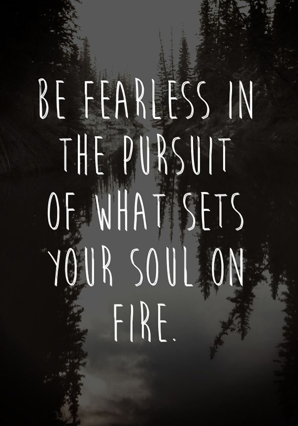 Be Fearless Becoming The Oil And The Wine