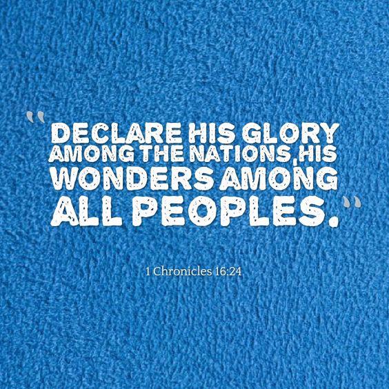 declare-his-glory