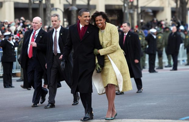Barack and Michelle. Image source - Boston.com