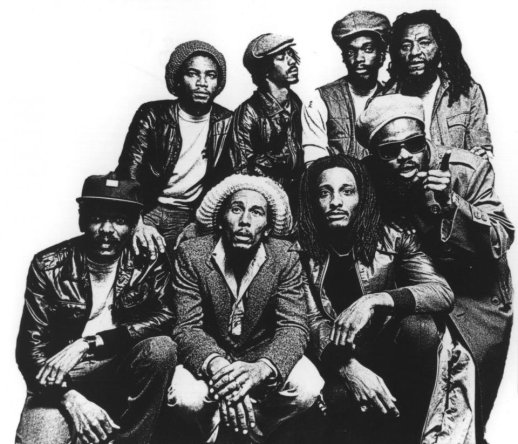 Bob Marley and the Wailers. Image source: mtv.com