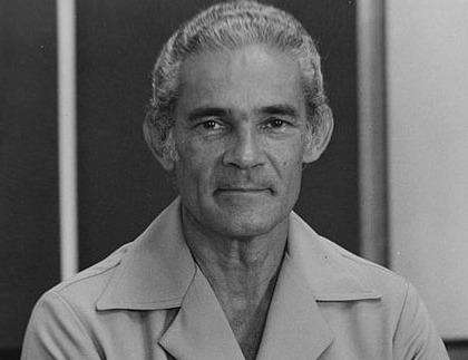 The poor people's champion in the 1970's in Jamaica. Image source. Michael Manley Foundation