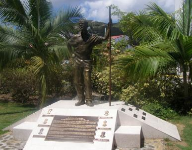 Mr. Lloyd protest began has a lone voice crying out against land injustices in his island home. Image source: BVItourism.com