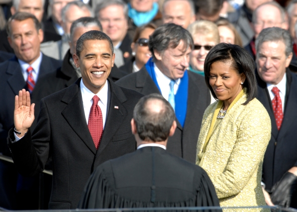 President Barack Obama inauguration - 2009. Image source: