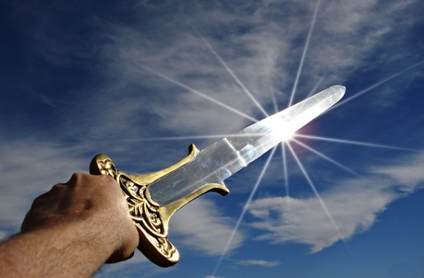 For though we walk in the flesh, we do not war according to the flesh. For the weapons of our warfare are not carnal but mighty in God for pulling down strongholds. (2 Corinthians 10:3-4)