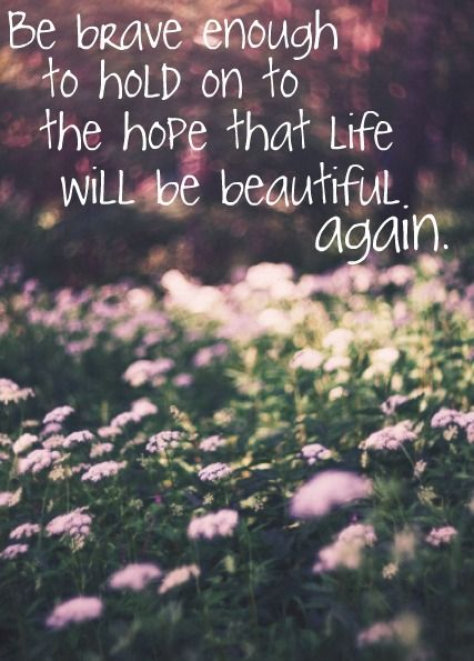 Life Will Be Beautiful Again Becoming The Oil And The Wine